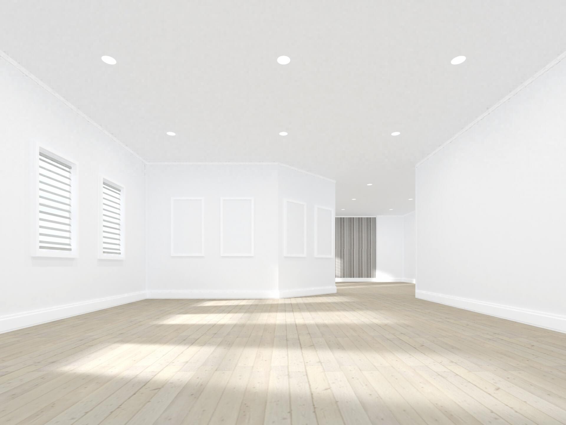 3.バリアフリー(階段スペースが不要)